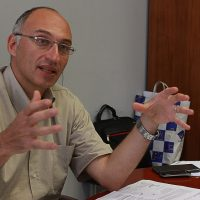 طارق توفيق المشرف العام على مشروع المتحف المصرى الكبير (2)