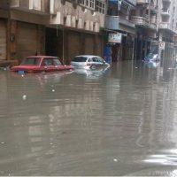 امطار الاسكندرية