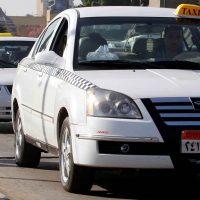 التاكسى الأبيض