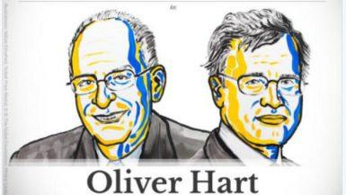 """فوز """"أوليفر هارت"""" و""""بنجت هولمستروم"""" بجائزة نوبل للاقتصاد"""