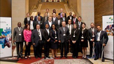 رئيس الرقابة المالية المصرية فى اجتماع المنظمة الدولية للتخصيم بجنوب افريقيا