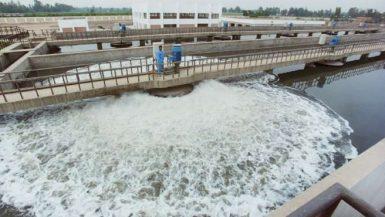 محطة ضخ وتخزين مياه