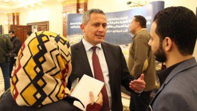 احمد الهيتمي المدير العام لشركة مدينة نصر للاسكان والتعمير 1