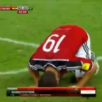 مباراة منتخب مصر وغانا