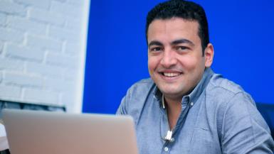 نادر البطراوي مؤسس شركة اوسطي