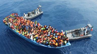 الهجرة لأوروبا - صورة ارشيفية