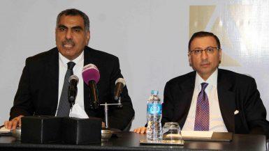 فرانك نابولسى فنادق فيرمونت،  وأيمن إبراهيم، المدير التنفيذي لشركة فاركو