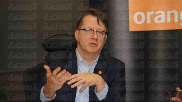 جان مارك هاريون الرئيس التنفيذى لشركة أورنج مصر