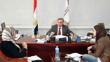 أحمد عنتر رئيس جهاز التمثيل التجارى (4)