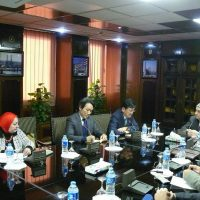 وزير الكهرباء وسفير كوريا الجنوبية فى مصر