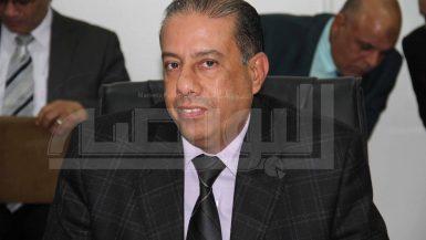 عبدالعظيم حسين رئيس مركز كبار الممولية