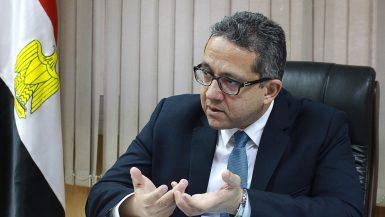 خالد العنانى وزير الاثار (1)