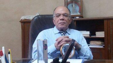 هاشم أبو العلا  الرئيس التنفيذى لمكتب معاينة البضائع