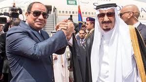 الرئيس السيسى مع الملك سالمان