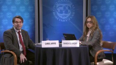 المؤتمر  الصحفي  لصندوق النقد الدولي عن قرض مصر