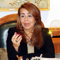 غادة والى وزيرة التضامن الاجتماعى (3)