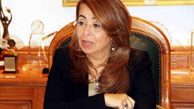 غادة والى وزيرة التضامن الاجتماعى (4)