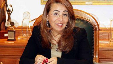 غادة والى وزيرة التضامن الاجتماعى (6)