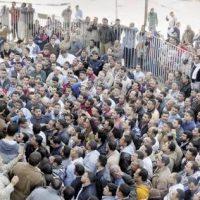اضراب غزل المحلة - صورة ارشيفية