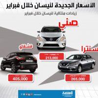 اسعار سيارات نيسان