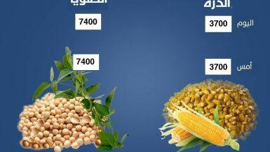 الذرة والصويا