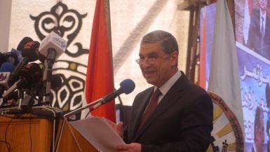 وزير الكهرباء خلال الفعالية