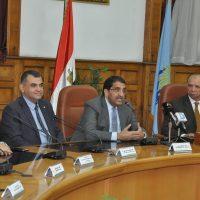 تعاقد محافظة القاهرة مع اى فاينانس