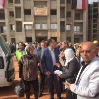 وزير الإسكان وأعضاء مجلس النواب فى زيارة لـ العاصمة الإدارية (3)