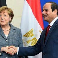 الرئيس عبدالفتاح السيسي والمستشارة الألمانية ميركل