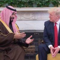 ترمب يتقبل ولي ولي العهد السعودي محمد بن سلمان