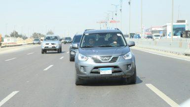 اختبار قيادة سيارة شيرى تيجو (2)