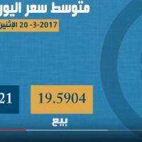 اسعار العملات 20 مارس