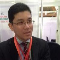 كوزو هسيجاوا ممثل هيئة التجارة الخارجية اليابانية فى القاهرة