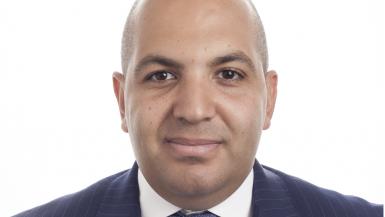 محمد فهمي الرئيس المشارك لقطاع الترويج وتغطية الاكتتاب بالمجموعة المالية هيرميس في دبي