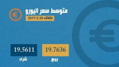 اسعار العملات 28 مارس
