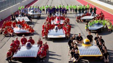 سباق سيارات الطاقة الشمسية