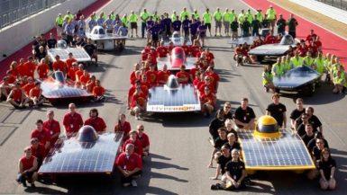 السيارات الشمسية - صورة ارشيفية
