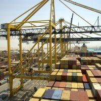 حاويات ميناء الملك عبد الله