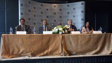 جانب من مؤتمر شركة النعيم القابضة للاسثمارات