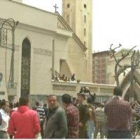 صورة أرشيفية لتفجير كنيسة طنطا