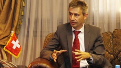 السفير السويسرى بالقاهرة