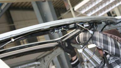 خط إنتاج سقف سيارات