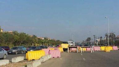 إصلاح خط مياه القاهرة الجديدة
