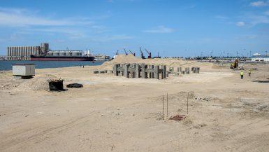 أعمال الانشاء بالمحطة -2