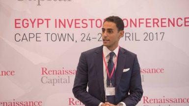 أحمد بدر الرئيس التنفيذي لبنك رينيسانس كابيتال