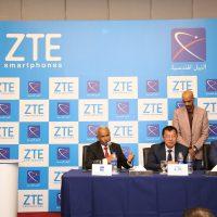 توقيع اتفاقية الشراكة بين zte والنيل الهندسية