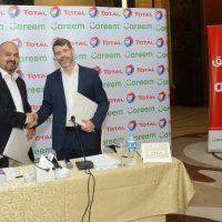 توقيع اتفاقية بين توتال وكريم