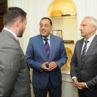 وزير الاسكان مع سفير بيلاروسيا