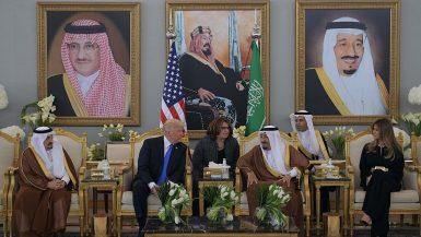 زيارة ترامب للسعودية