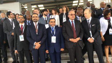 شريف سامي رئيس الرقابة المالية في مؤتمر الأيوسكو